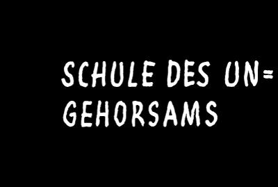 Logo des Ticketshops von Schule des Ungehorsams