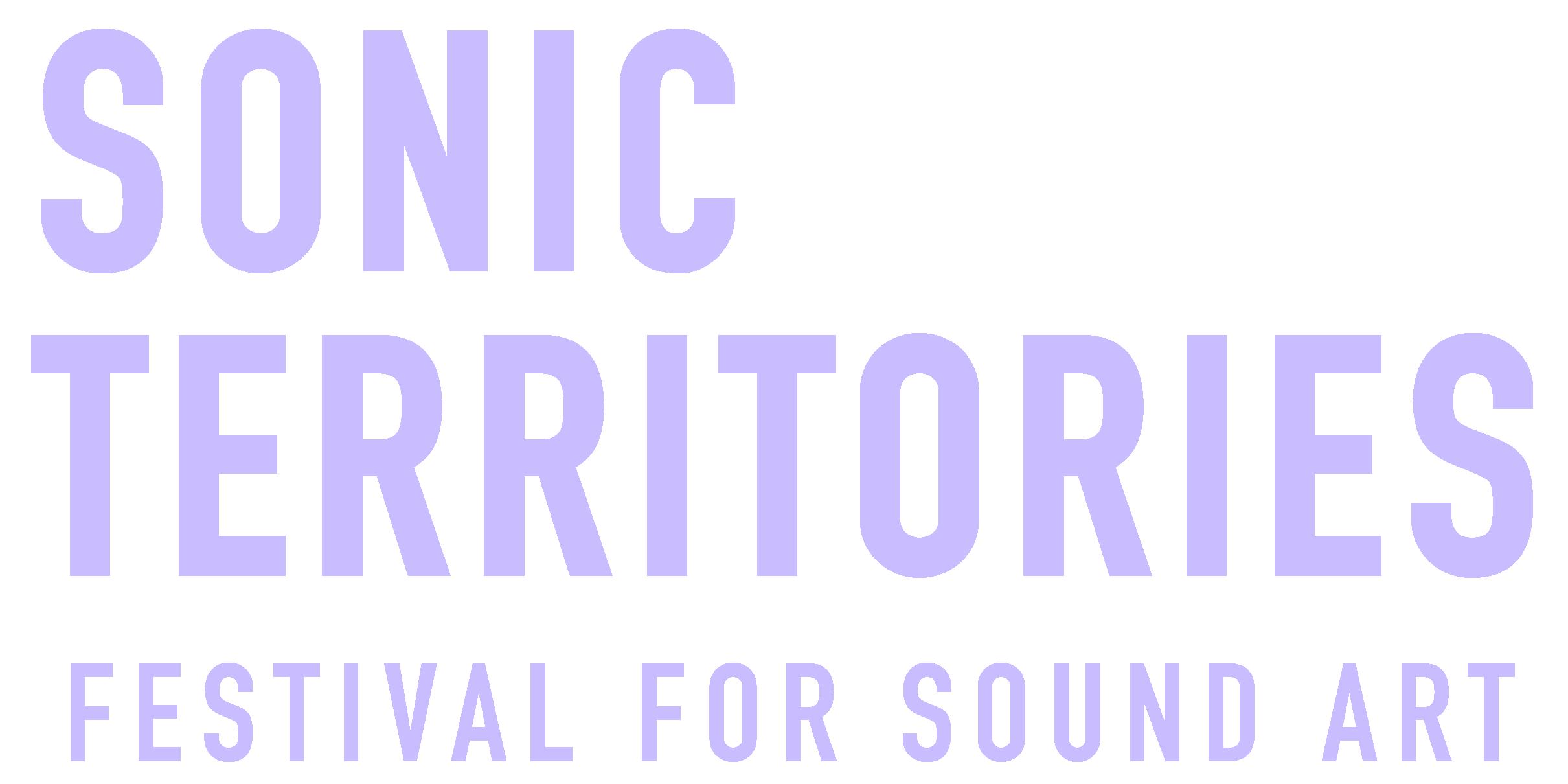 Logo des Ticketshops von SONIC TERRITORIES Festival for Sound Art